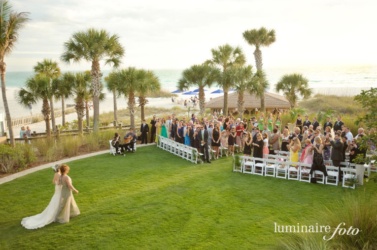 Ritz-Carlton Sarasota Wedding Officiated by A Wedding with Grace
